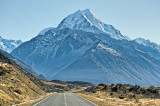 Approaching Mount Cook