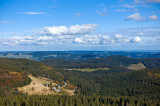 View from the north-eastern slope of Feldberg