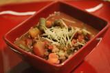 Tomato Lentil and Barley Soup