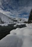 Winter Envelopes the Entiat River Valley