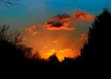 tonight's sunset...not