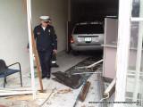 Car Into Building / Madison Avenue / Bridgeport CT / April 2011