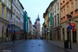 Up early on Florianska Street