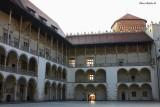 Wawel - Arcaded Courtyard