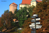 Royal Route ends at the foot of The Wawel Hill