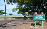 Honokawai Beach Park view