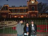 Disneyland Entrance Gate Area