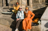 Sadhus (grands prêtres) à Pashupatinath