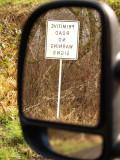 Primitive Road No Warning Signs