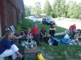 Lunch Kvilunda gård efter ridpasset