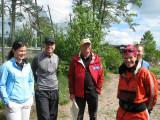 Maria, Rebwar ,Kjell och Johanna