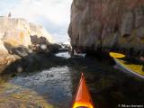 Lite extra trång idag med en båt i hålet...