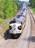 The Inbound Kentucky Derby train at Waddy Ky