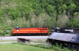 NS Heritage 8114 near Glenita Virginia