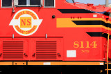 NS Heritage 8114 at Pickens TN