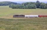 NS 958 rolling through the valley near Newbern VA