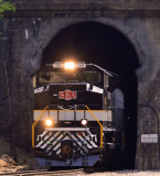 NS 958 at the West portal of Montgomery tunnel
