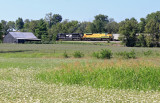 76J  leaves  East Talmage, after meeting Westbound 891