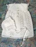 Christening Dress For 15-16 Baby Doll