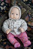 Another Sweater And Bonnet For 15-16 Baby Doll