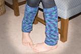 Grandma Made Me Leg Warmers!
