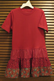 MC's Red Dress