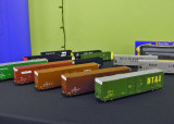 ExactRail 60' Greenville box cars