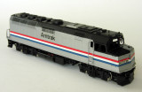 Amtrak F40PH in brass