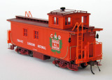 Canadian National wood caboose