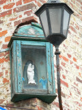 Staande Maria met Kind - Zwarteleertouwersstraat  49