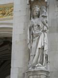 Onze Lieve Vrouw met de inktpot - Burg 12 (Stadhuis)