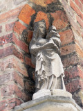 Staande Maria met Kind - Mariastraat 36
