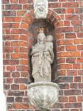 Staande Maria met Kind (koningin) - Westmeers 10