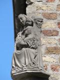 Zittende Maria met Kind - Jeruzalemstraat 1