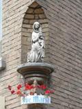 Zittende Maria met Kind  - Leemputstraat 2
