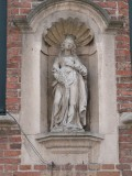 Staande Maria (Koningin) - Wulfhagestraat 3