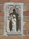 Staande Maria met Kind - Gulden Vlieslaan 37