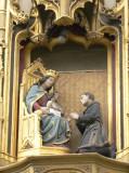 Zittende Maria met Kind - Naaldenstraat 19