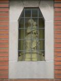 Zittende Maria met Kind  - Elf-Julistraat 14