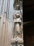 Sint-Annaplein - deurnaald - Maria en haar moeder