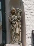 Spaanse loskaai 1  Staande Maria met Kind