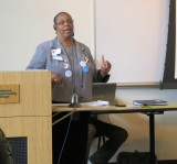 Glendora Claybrooks Speaks Passionately