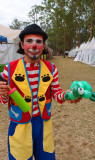 Parque Metropolitan Sabana Turtle Balloon Clown
