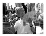 Reading the Figaro - Paris