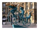 Anna Chromy at place vendome - Paris