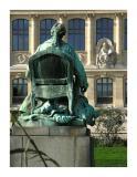 Buffon facing the goddess of knowledge - Paris