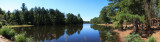 Panoramic of Gibson Pond