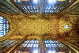 Ceiling shot, Sherborne Abbey