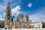 Exterior of Burgos Cathedral