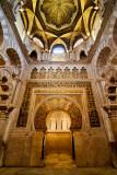 Dome and archway , Mezquita, Cordoba